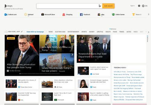 Outlook, Office, Skype, Bing, Breaking News, and ... - MSN.com