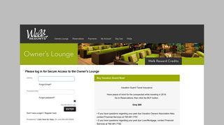Owners Lounge Home- Owners Lounge :: Welk Resorts San ...