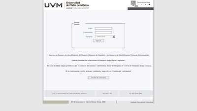 Pago en Línea UVM