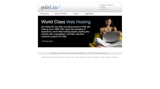 pairLite - Hosting for Hobbyists and Savvy Webmasters - Home
