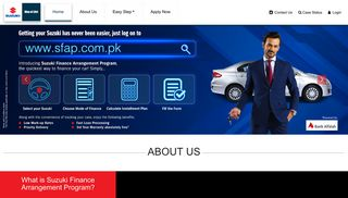 Pak Suzuki Car Finance Arrangment