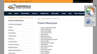 Parent Resources | Hudsonville High School