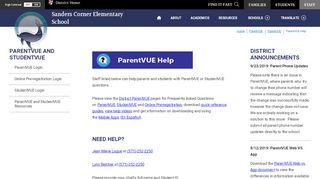 ParentVUE - Loudoun County Public Schools