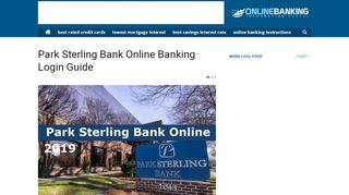 Park Sterling Bank Online Banking Login Guide 2019 (Latest)