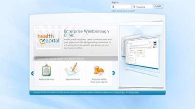 Patient Portal Login Page - Eclinicalweb.com