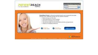 PatientReach Portal - Login