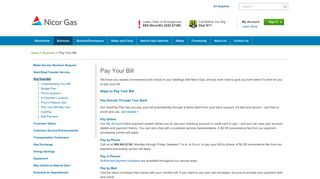 Pay Your Bill - Nicor Gas