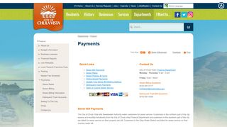 Payments | City of Chula Vista