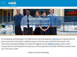 Payroll Information - Employees   ABM