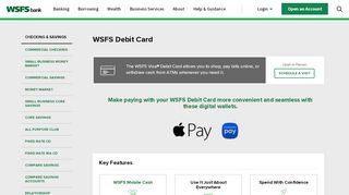 Personal Debit Cards | WSFS Bank