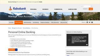 Personal Online Banking - Rabobank