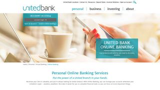 Personal Online Banking Services | Mobile & Online Banking ...