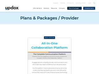 Plans & Packages  Updox