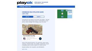 Play Cribbage Online Free, Crib Online - PlayOK