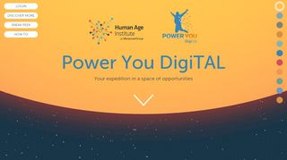 Power You DigiTAL: Log in to the site