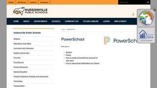 PowerSchool | Hudsonville Public Schools