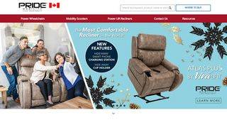 Pride Mobility® : Canada | Live Your Best® - Leader In ...