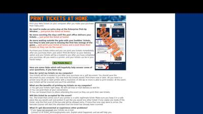 Print Mets Tickets at Home  New York Mets