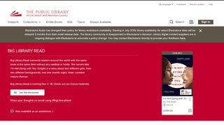 Public Library of Cincinnati and Hamilton County: Home