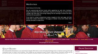 Quality Delivery | New Mexico State University Alamogordo
