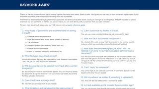 Raymond James | Investor Access | Demo