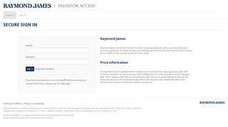 Raymond James | Investor Access Vault