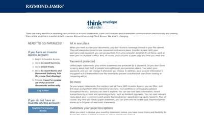 Raymond James | Investor Access
