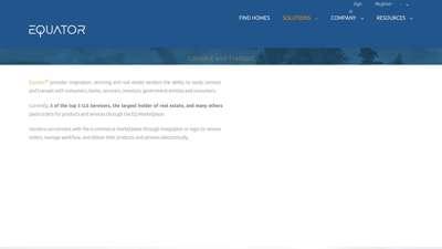 Real Estate Vendor Marketplace   Equator