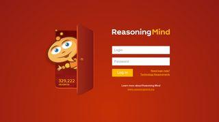 Reasoning Mind Login