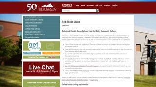 Red Rocks Online   Red Rocks Community College