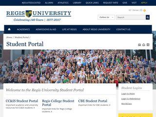 Regis University | Current Students | Student Portal | Student Resources