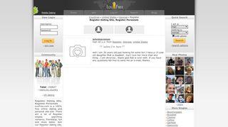 Register Dating Site, Register Personals, Register Singles