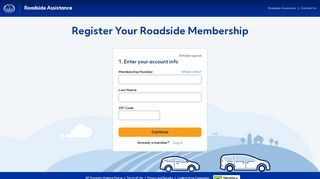 Register now - Roadside Assistance - Allstate