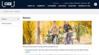 Retirees - CSX.com
