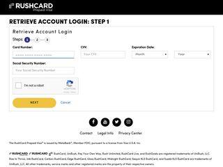 Retrieve Account Login
