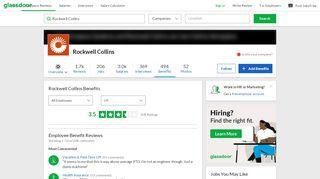 Rockwell Collins Employee Benefits and Perks  Glassdoor