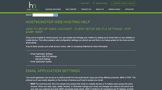 RoundCube - HostMonster