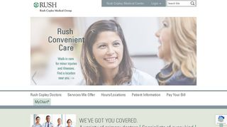 Rush Copley Medical Group - Rush Copley Medical Center
