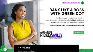 RushCard | Online & Mobile Banking | Russell Simmons Card