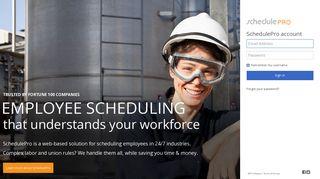 SchedulePro - workforce employee scheduling software