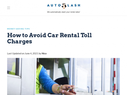 How to Avoid Car Rental Toll Charges | AutoSlash