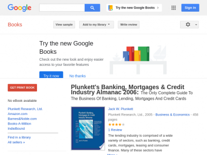 Plunkett's Banking, Mortgages & Credit Industry Almanac 2006: The Only ... - Jack W. Plunkett - Google Books