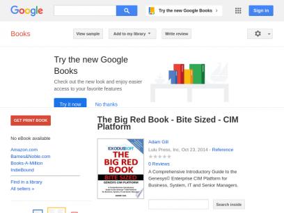 The Big Red Book - Bite Sized - CIM Platform - Adam Gill - Google Books