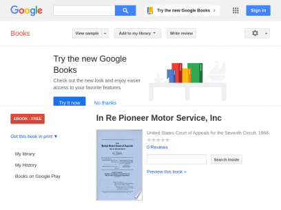 In Re Pioneer Motor Service, Inc - Google Books