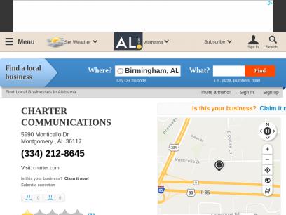 CHARTER COMMUNICATIONS         in Montgomery, AL 36117      - AL.com