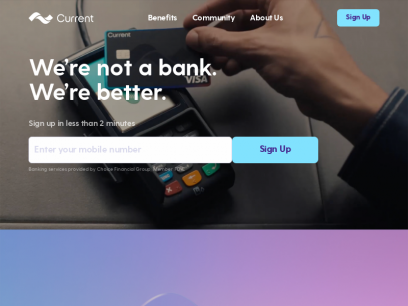 Current - Banking for Modern Life