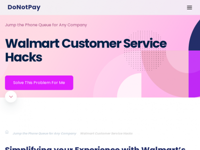 Walmart Customer Service Solutions [Fast Read]