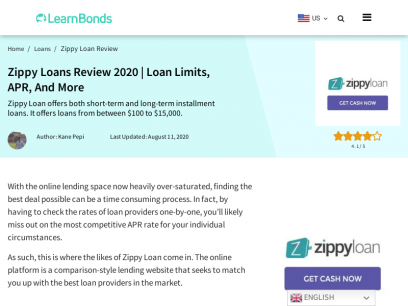Zippy Loans Review 🥇 Loan Site or SCAM? The Verdict!