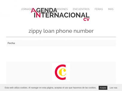 zippy loan phone number
