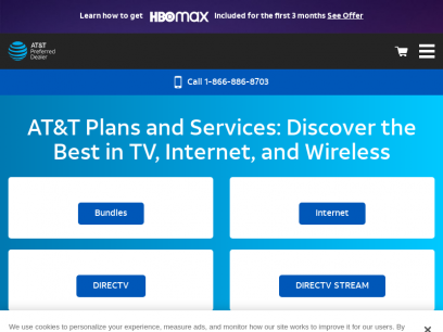 AT&T® Internet, Phone & TV Plans | Call 855-660-8920